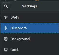 bluetooth-setting